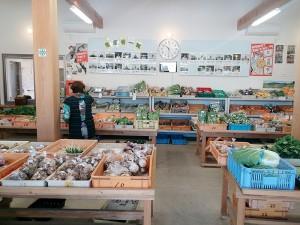 農産物直売所「四季の里」