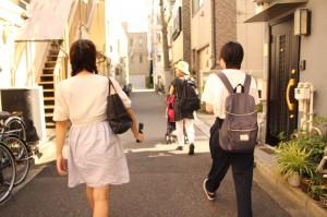 02_協力者の方の普段のお散歩に同行