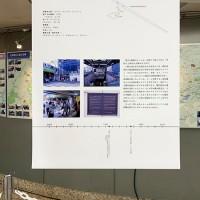 新大久保駅:駅模型と説明パネル